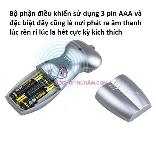 Âm đạo giả có âm thanh sử dụng 3 pin