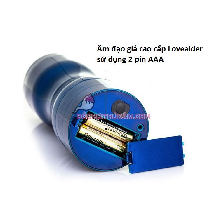 Âm đạo giả Fleshlight Loveaider sử dụng 2 pin