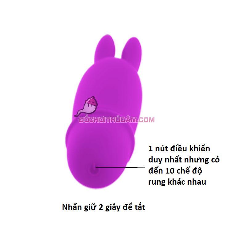 Hướng dẫn sử dụng trứng rung tình yêu tai thỏ