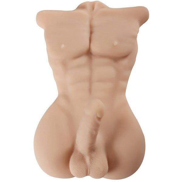 Búp bê tình dục nam nửa người bằng silicon