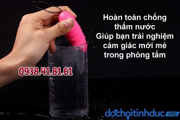 Chất liệu silicon mềm mịn và không thấm nước