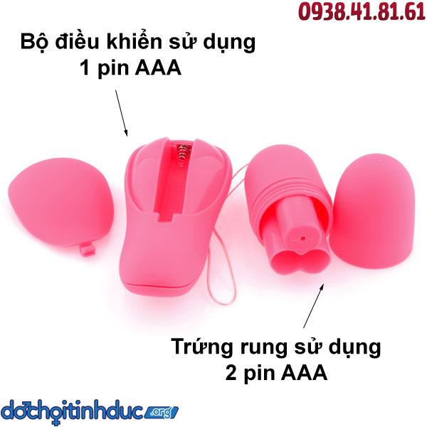 Sử dụng pin AAA tiện lợi